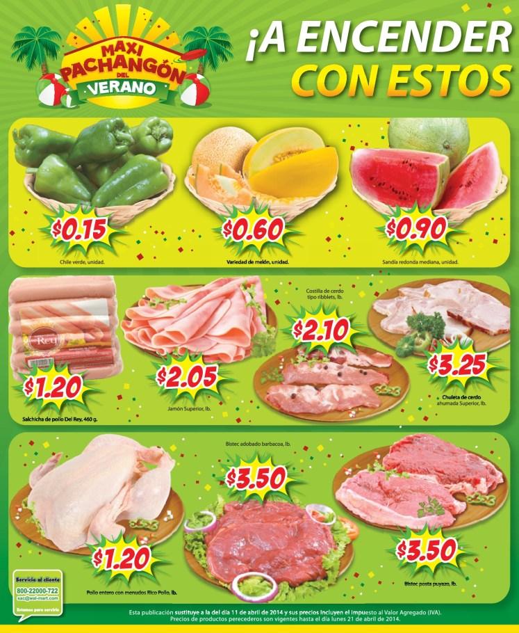 frescura en carnes pollos frutas Maxi Despensa - 15abr14