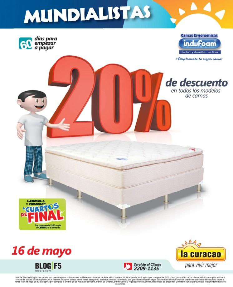 Descuentos mundialistas BEDS capri - 14may14