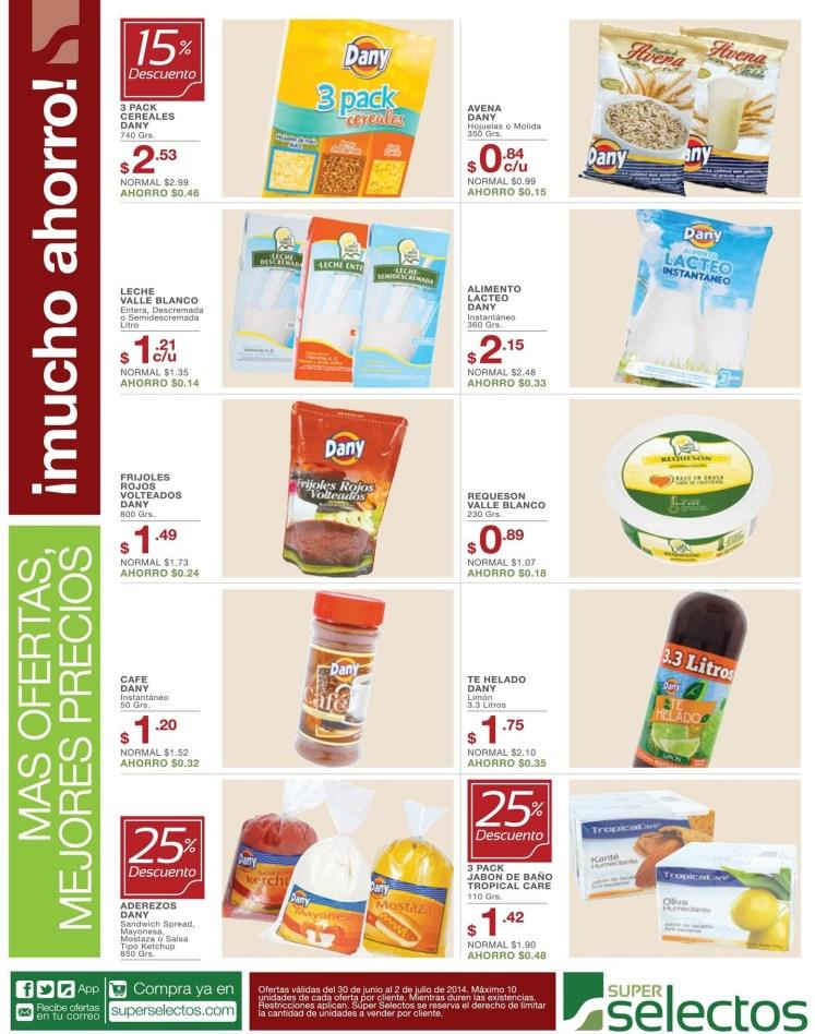 Estas son las ofertas para ahorro en super selectos - 30jun14