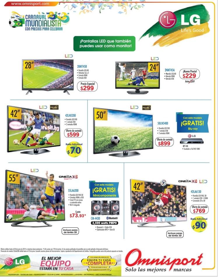 Life good LG pantallas LED omnisport ofertas - 17jun14