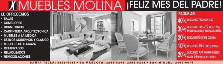 Muebles Molina feliz mes del padre
