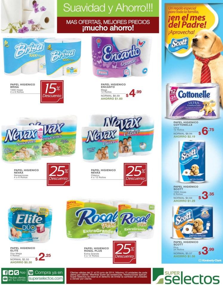 Papel higienico NEVA MAX brisa encanto variedad super selectos - 21jun14