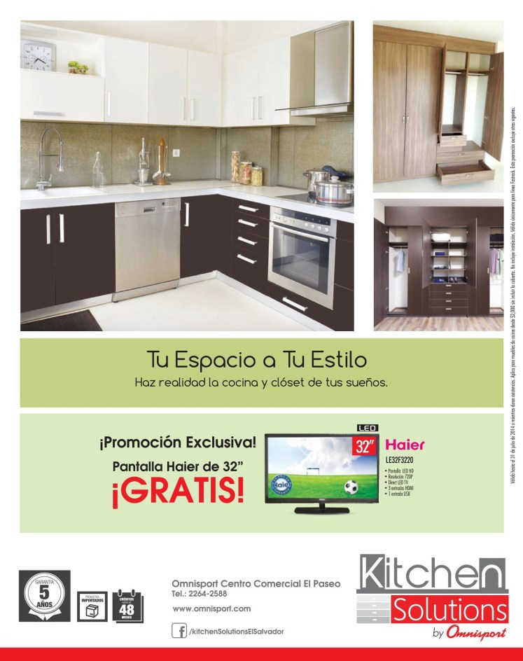 Promociones OMNISPORT Kitchen solution - 14jun14