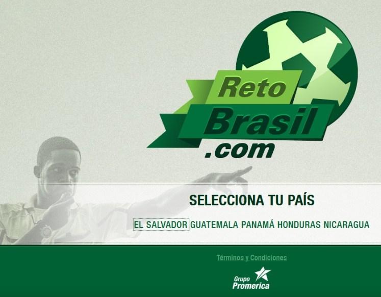 RetoBrasil.com promociones GRUPO Promerica centroamerica