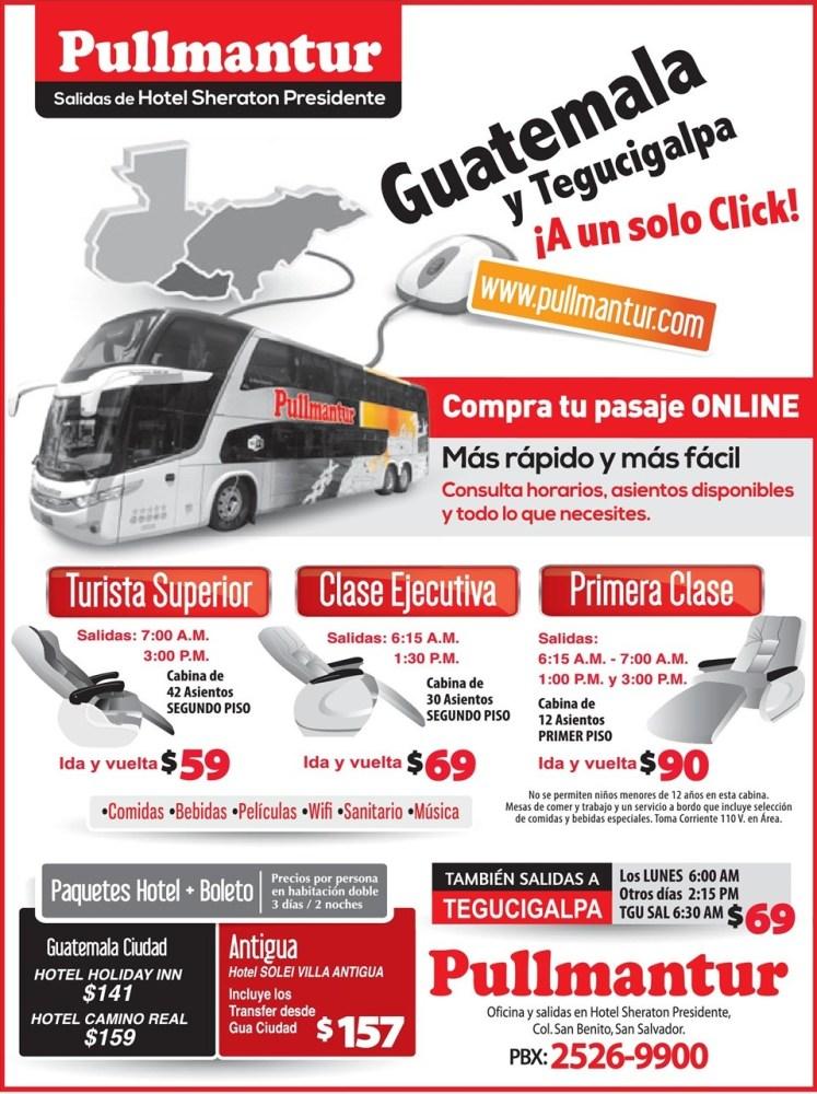 viajes GUATEMALA bus pullmantur HONDURAS - 25jun14