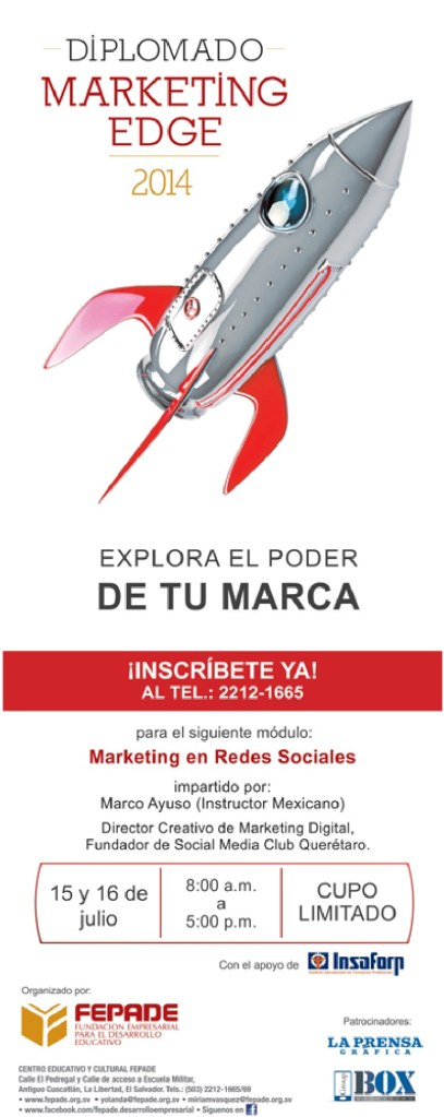 Estudia y Conoce tu MARCA diplomado marketing