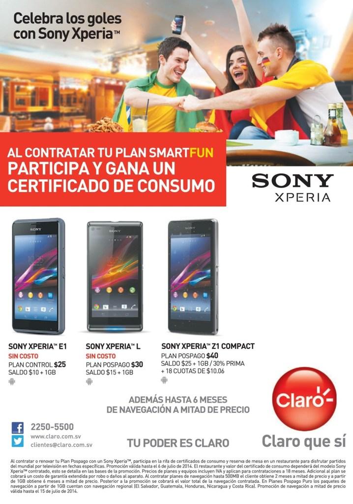 GANA certificado de consumo CLARO promociones - 02jul14