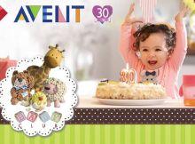 BEBE feliz con AVENT descuentos de aniversario - 24sep14