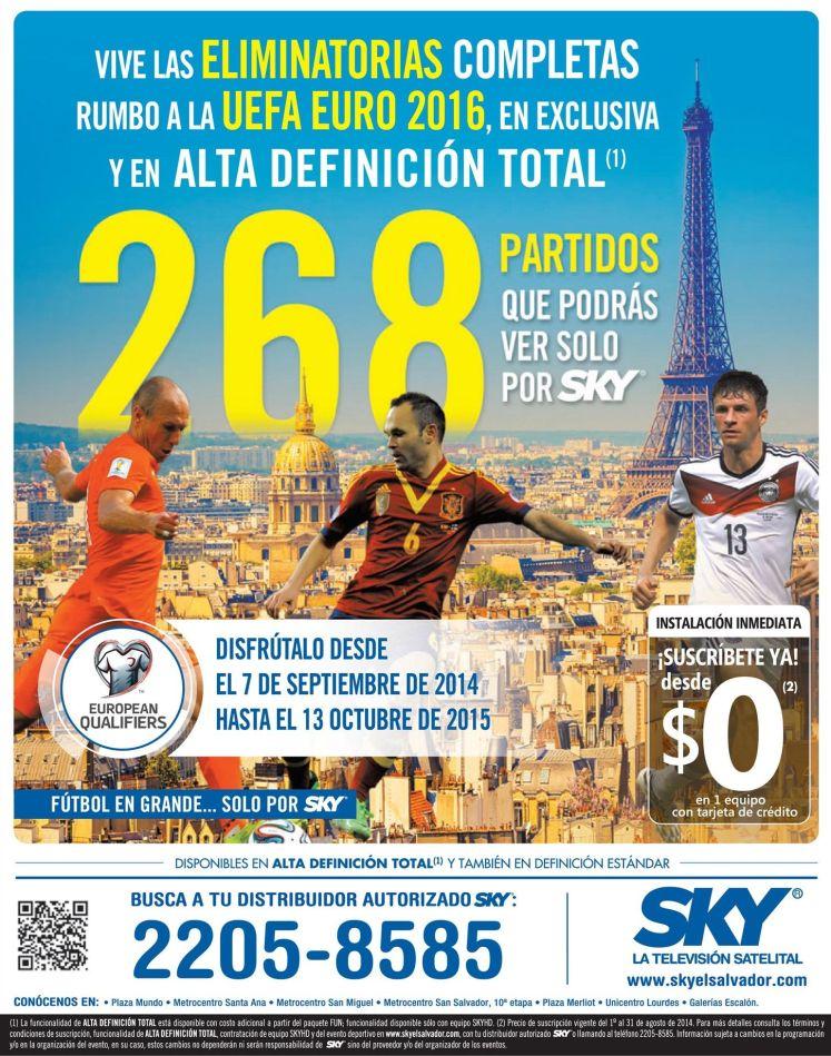 Futbol europeo n HD stream TV satelital - 15sep14