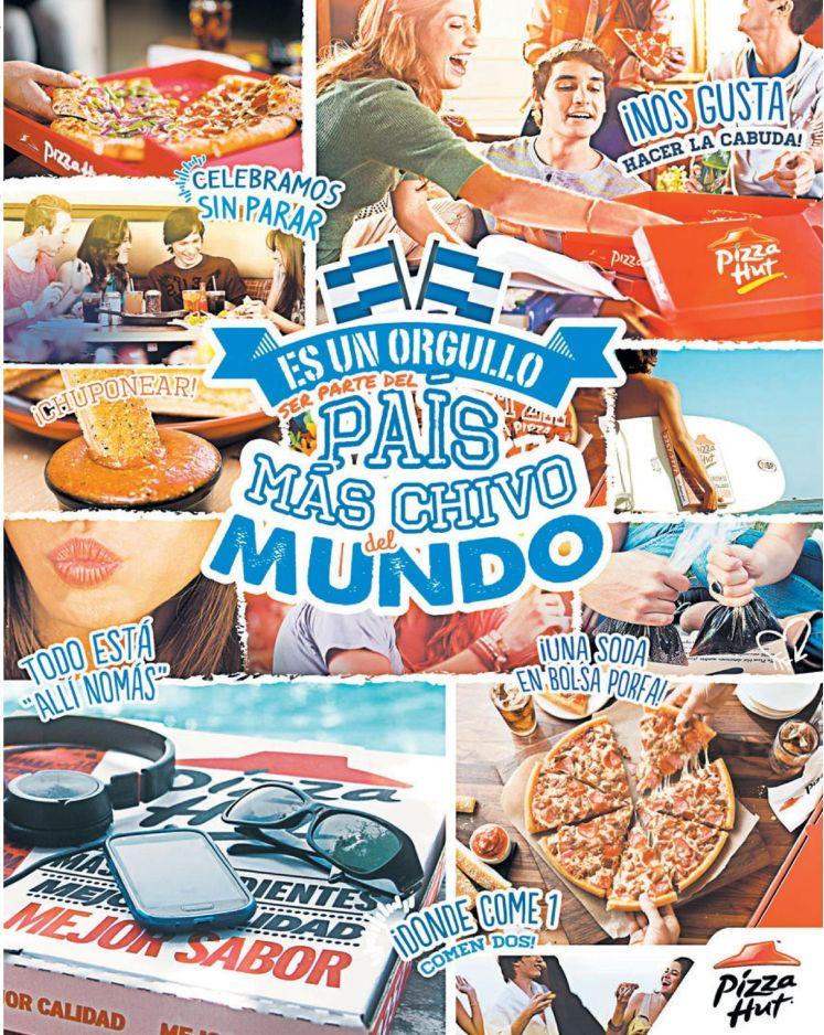PIZZA HUT donde comen las familias salvadoreñas