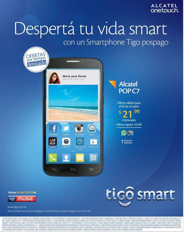 Atractivas ofertas TIGO en planes pospago - 24oct14