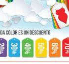 Cada color un descuento BUSCALOS este viernes - 10oct14