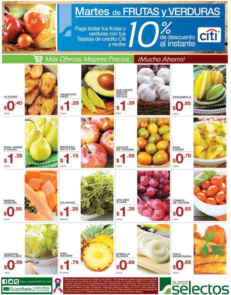 Mejores precios para ahorra en super selectos - 21oct14