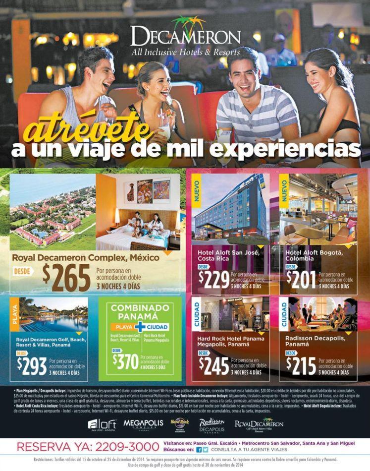 The BEST experience on beach resort DECAMERON el salvador - 15oct14