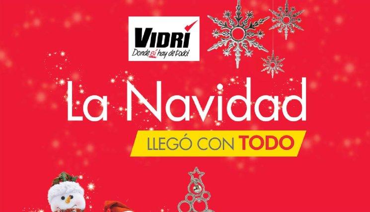 folleto de navidad ofertas VIDRI el salvador - nov14
