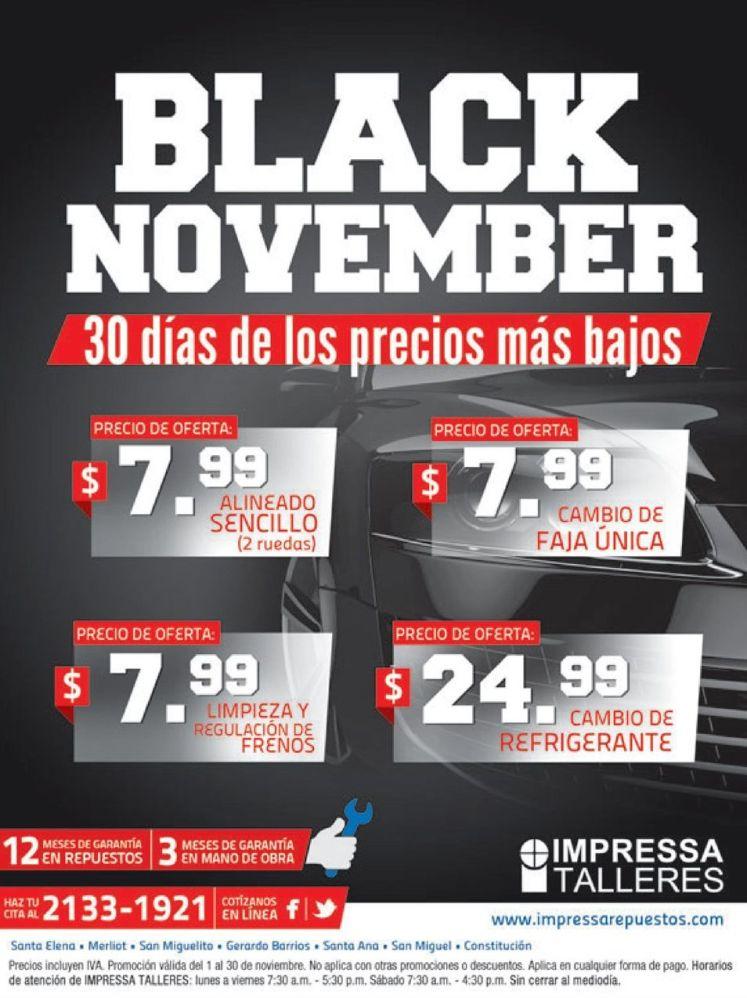 BLACK november en servicios para tu auto - 10nov14