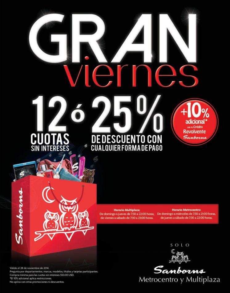 GRAN VIERNES samborns descuentos - 28nov14
