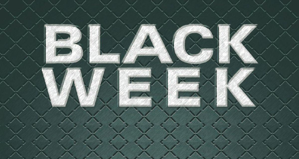 The BLACK WEEK comienza ahora (24-nov-14)
