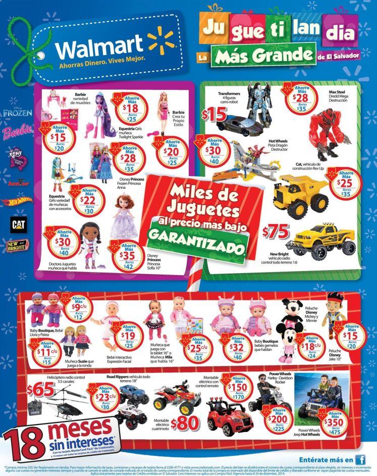 JUGUETILANDIA sale offers walmart - 20dic14