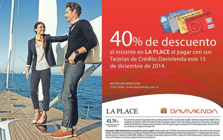 LA PLACE discounts casual wearing apparel - 15dic14