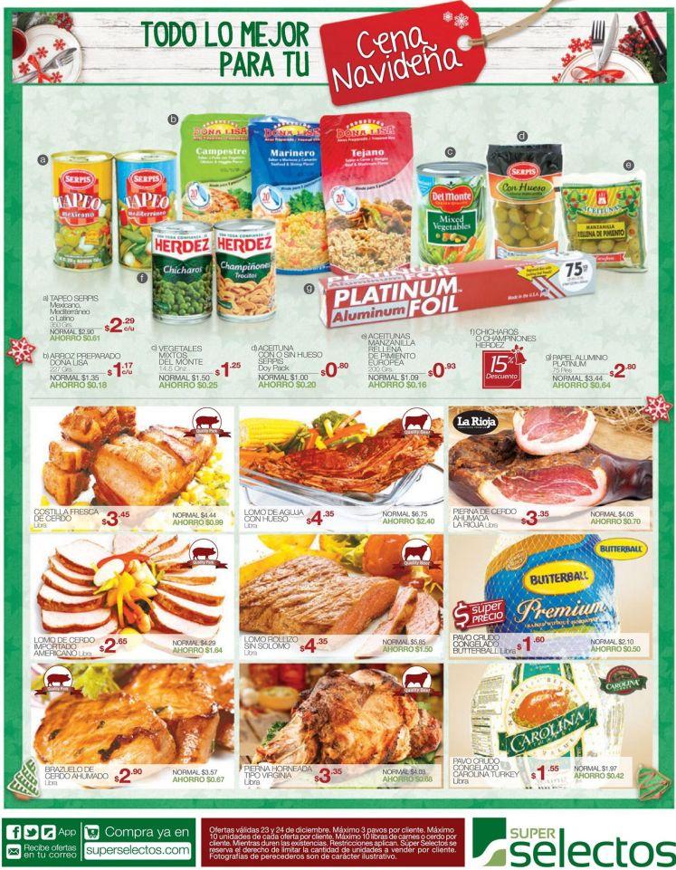 SUPER SELECTOS todos los ingredientes de tu cena de navidad - 23dic14
