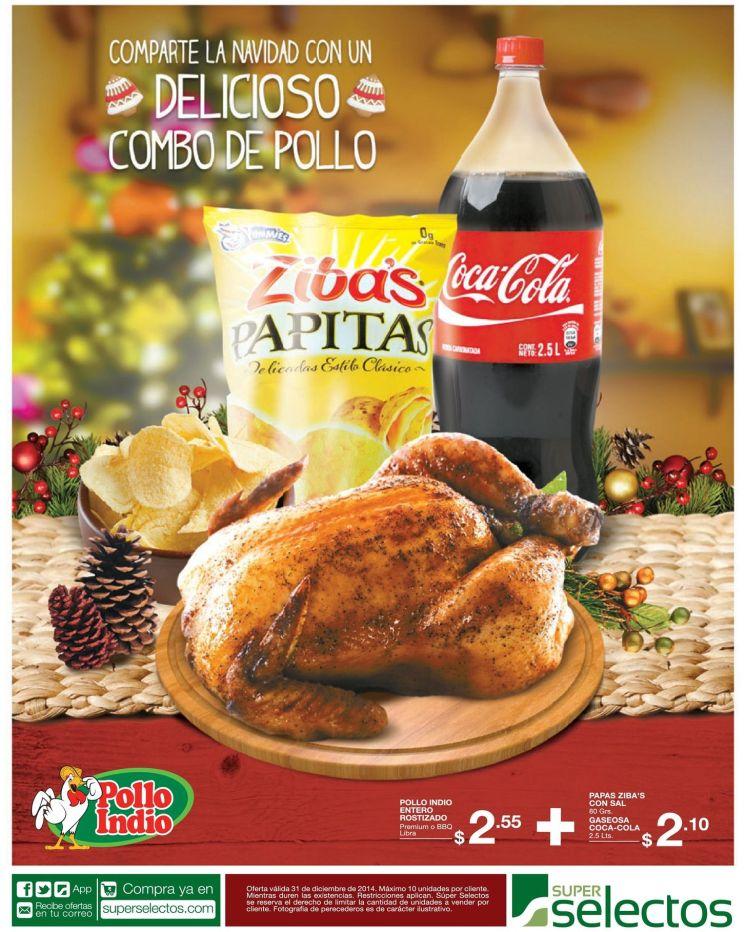 facil y economico COMBO pollo rostizado - 31dic14