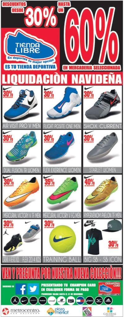 zapatillas deportivas para estrenar en navidad - 19dic14