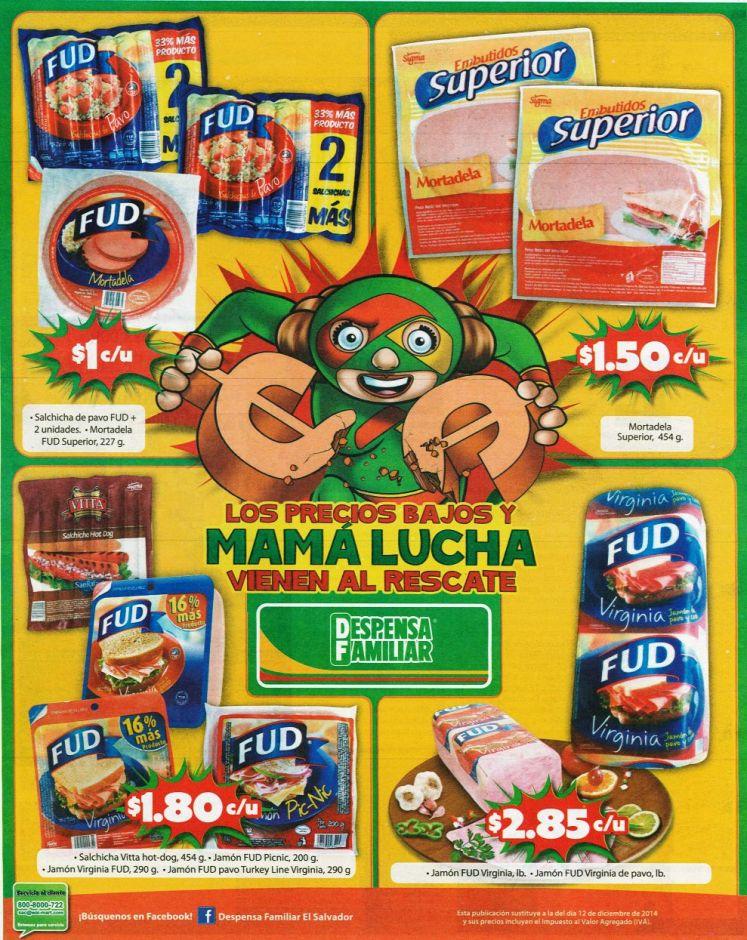 Despensa Familiar promociones en embutidos FUD - 16ene15