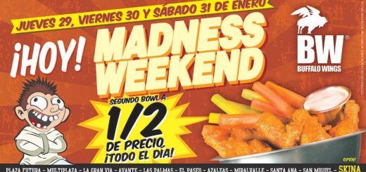 Promocion alitas BUFALO madness weekend - 29ene15