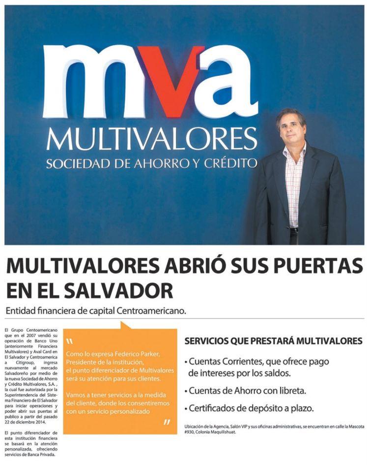 new entidad mercados financieros centro america MULTIVALORES