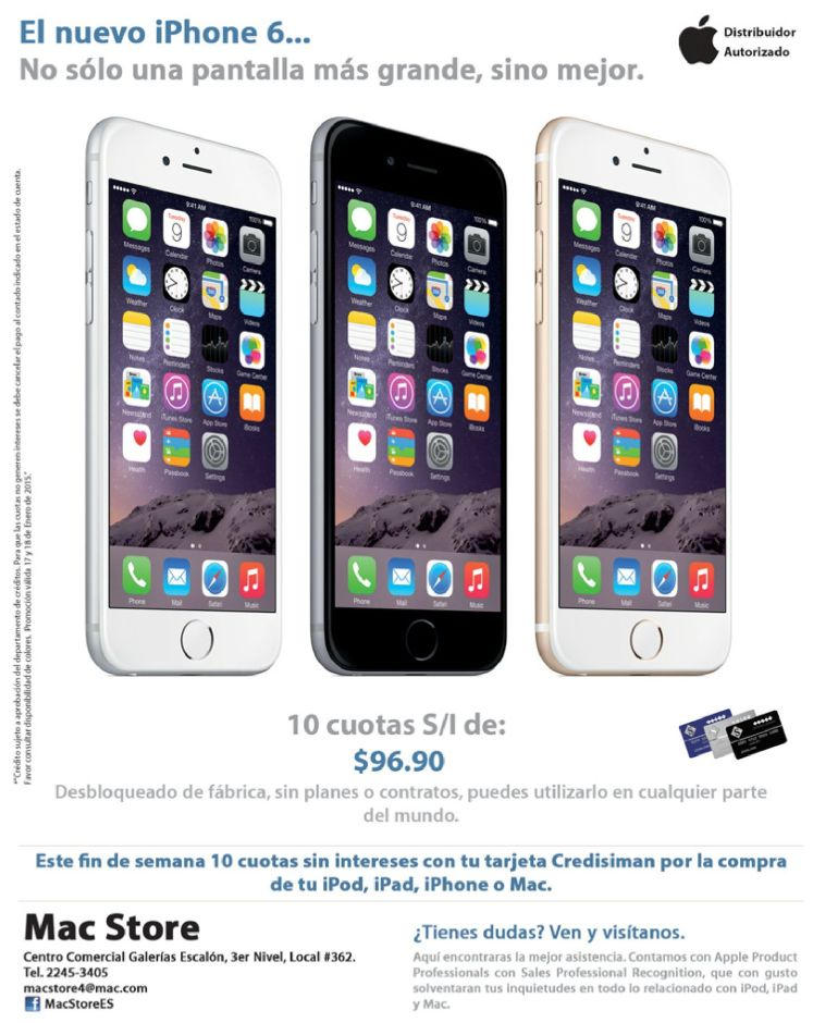 new iPhone 6 more power and screen big - 17ene15