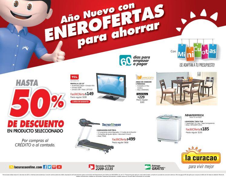 nuevas ofertas enero 2015 LA CURACAO - 09ene15