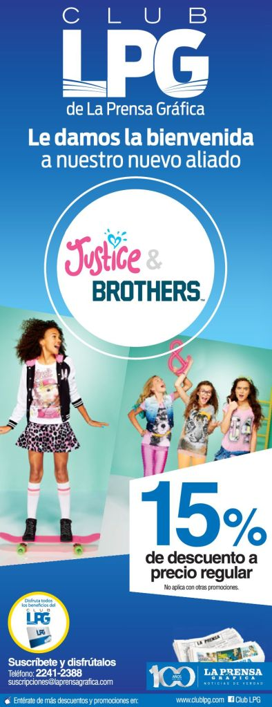 Jutice and Brothers DISCOUNTS - 25feb15