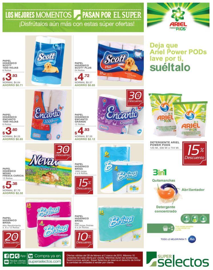 new ARIEL POWER PODS limpia tu ropa - 28feb15
