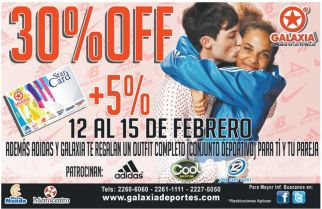 star card discounts ADIDAS - 12feb15