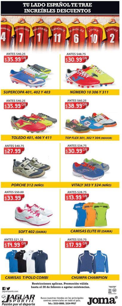 zapatillas deportivas de marca JAGUAR SPORTIC - 06feb15
