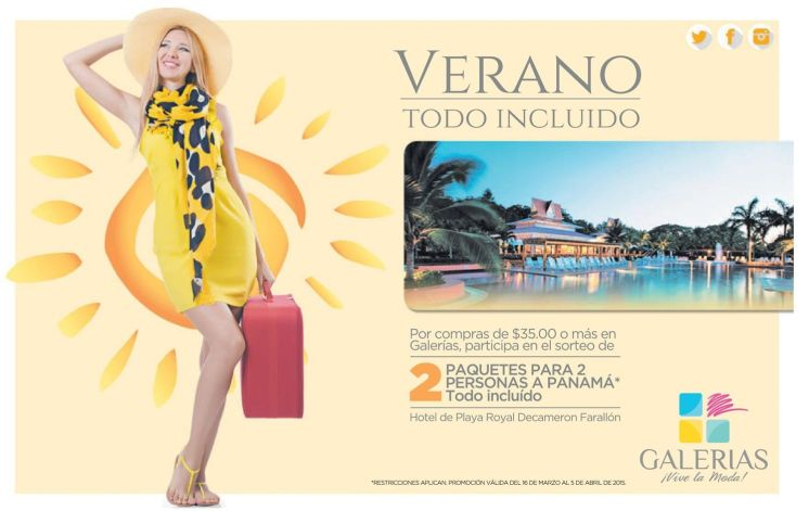 All inclusive SUMMER going to PANAMA