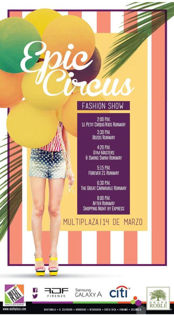 EPiC circus fashion show MULTIPLAZA - 14mar15