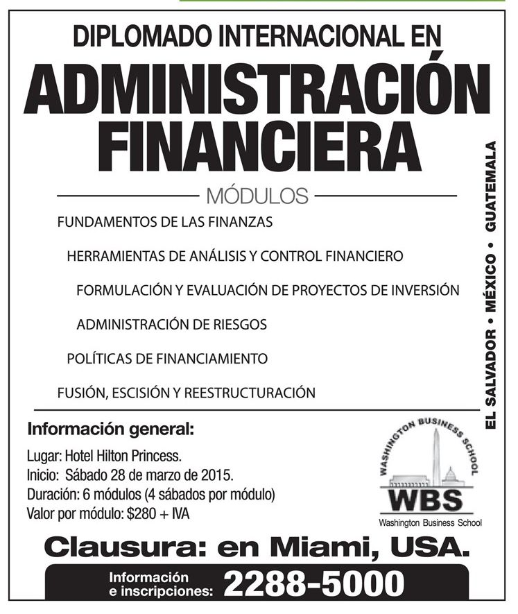 Finance managment course  USA miami