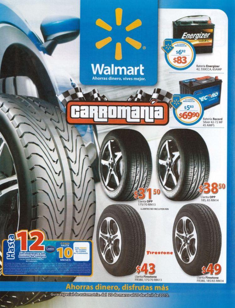 Folleto de ofertas CARROMANIA marzo abril 2015