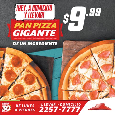 Pizza HUT 9.99 promociones geniales - 12mar15