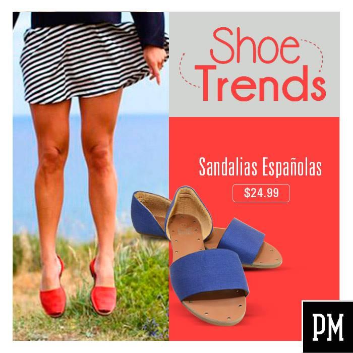 Shoe trends SPAIN sandals style