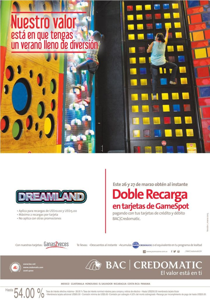 target Gamespot doble recharge DREAMLAND