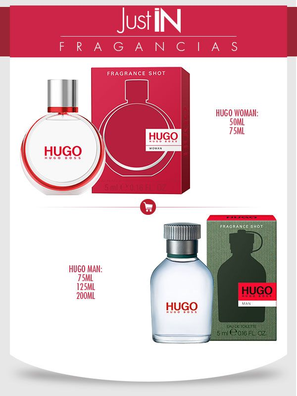 Just IN mand and women Fragancias HUGO BOSS