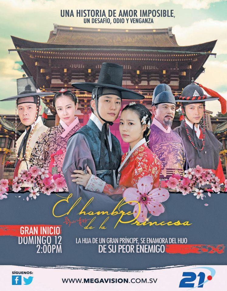 telenovela coreana en canal 21 el hombre de la princesa