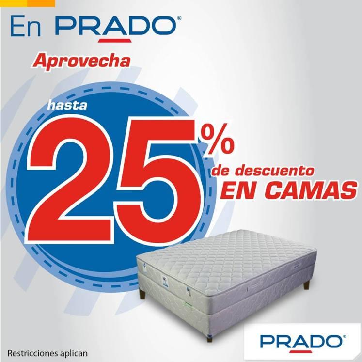 Aprovecha comprar cama nueva con 25 OFF en almacenes PRADO