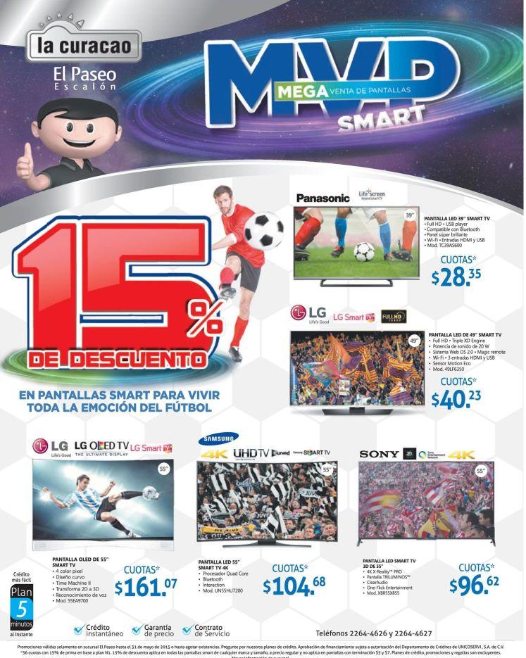 Curacao el salvador EL PASEO 15 off MEGA venta de pantallas - 29may15