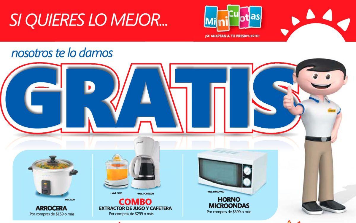 Premios GRATIS ahora viernes por tus compras (22-may-15)