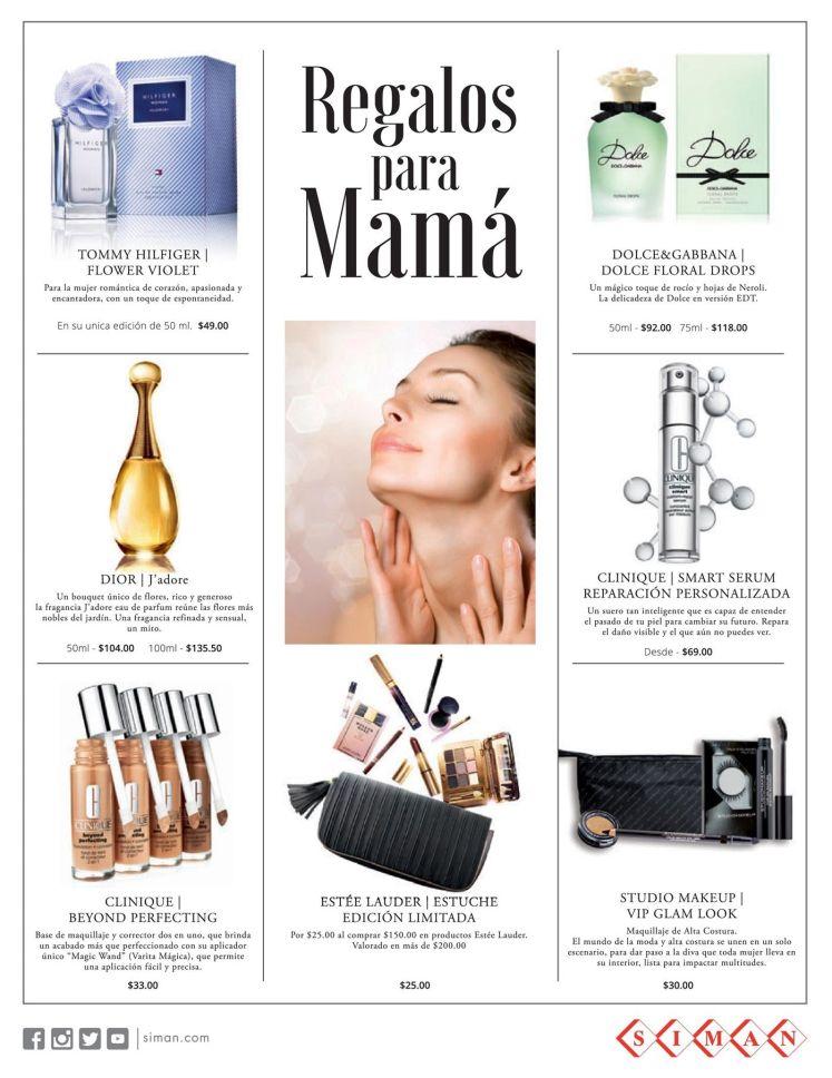 Escoge regalos para mama en SIMAN - 07may15