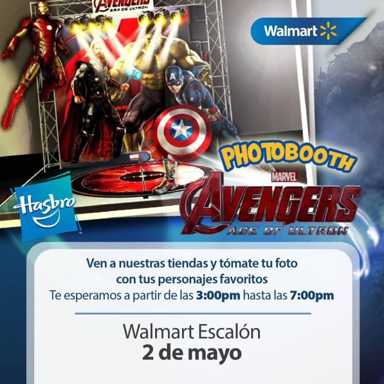 marvel Avengers PHOTO BOOTH for kids WALMART elsalvador